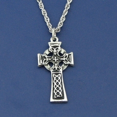 Small Braided Celtic Cross