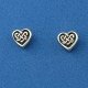 Celtic Knot Heart Stud