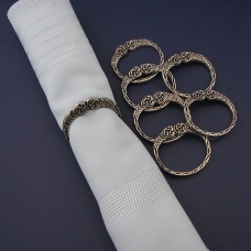 Celtic Napkin Rings (6)