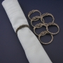 Celtic Napkin Rings (6)